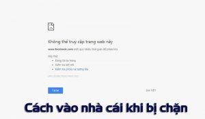 cách truy cập website khi bị chặn