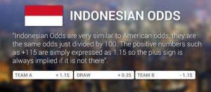 Tỷ lệ cược Indonesia là gì